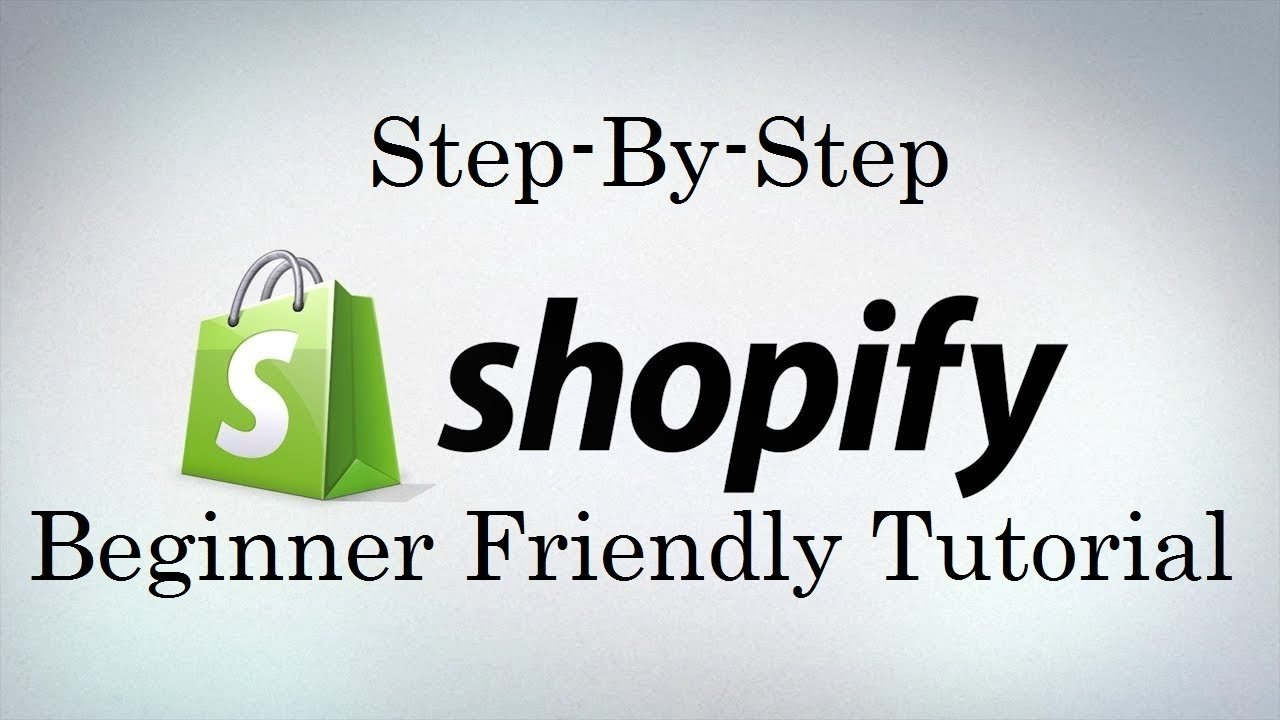 Shopify-Beginner-guideline